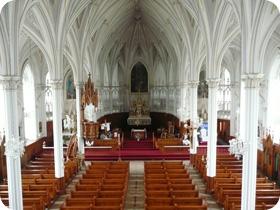 Intérieur de l'église de L'Isle-Verte (vignette)
