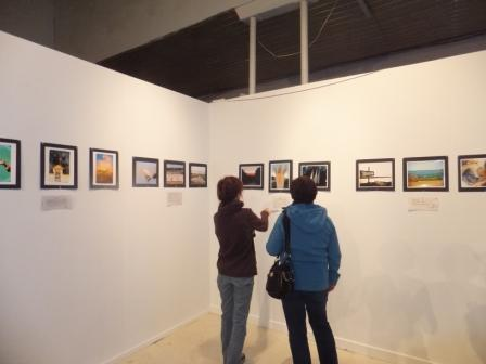 6 photographes exposés au Caveau à patate(Auteur : Aline Jestin)