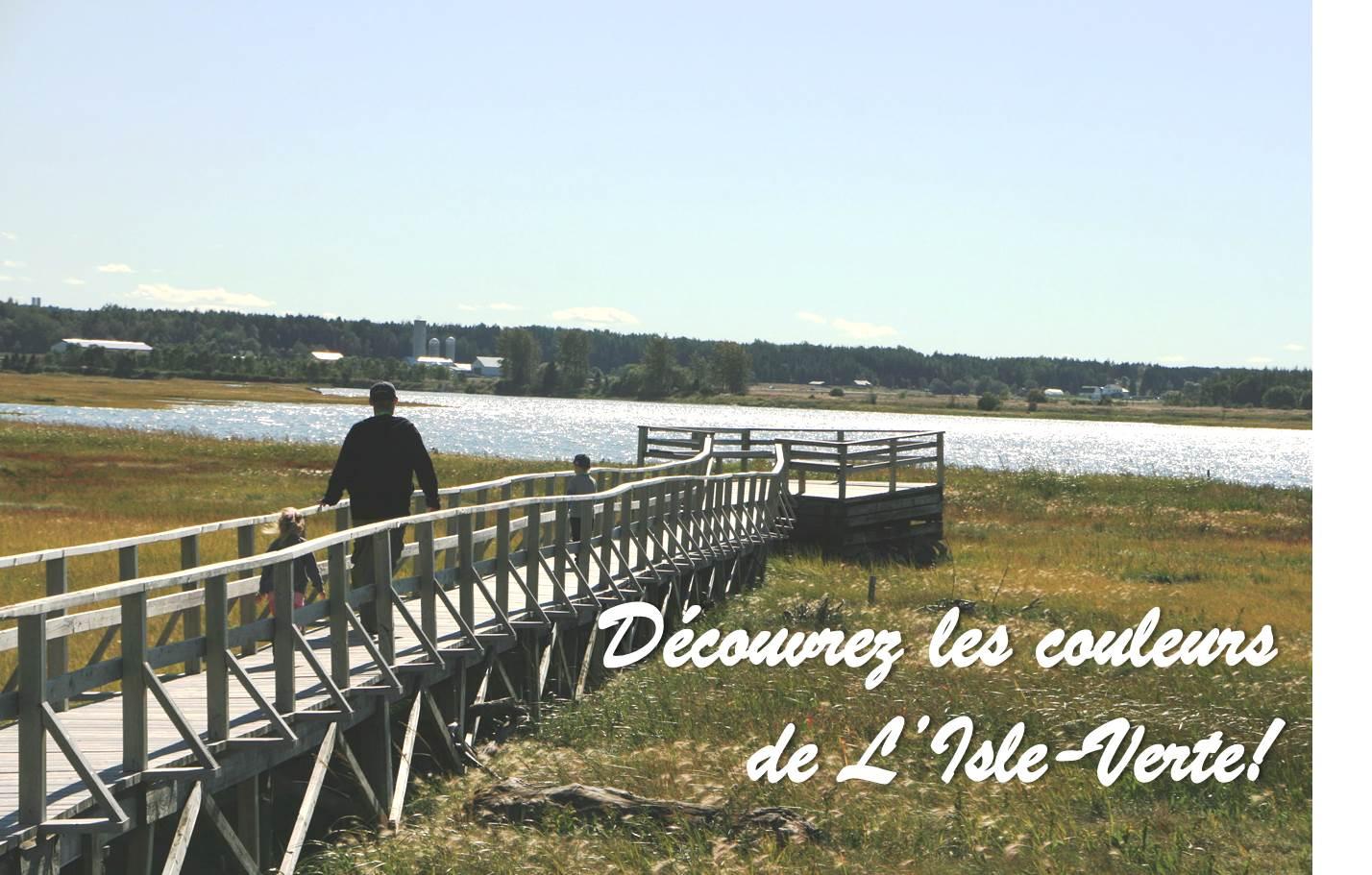 Découvrez les couleurs de L'Isle-Verte (Auteur : Aline Jestin)