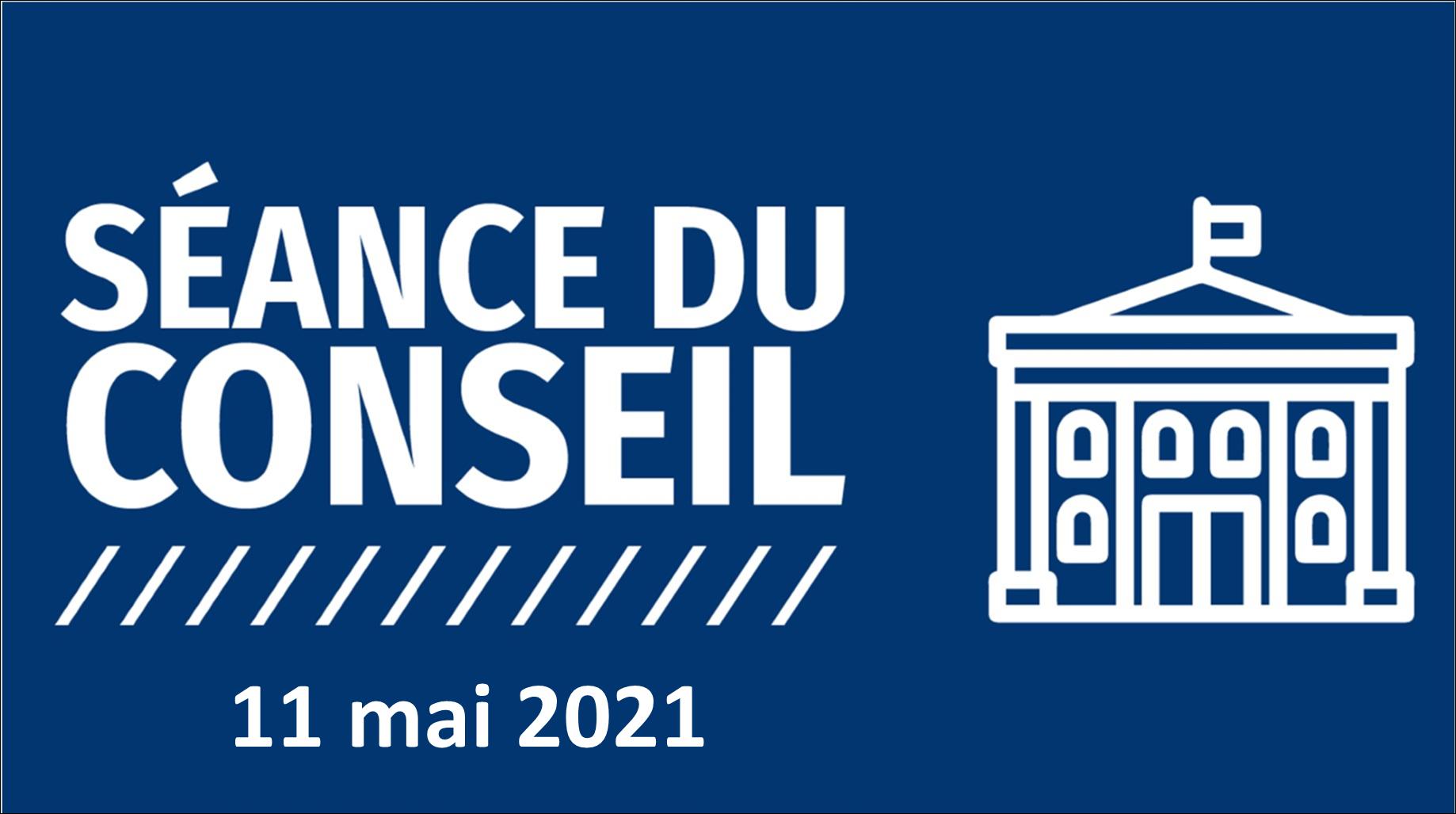 Image séance du conseil mai 2021
