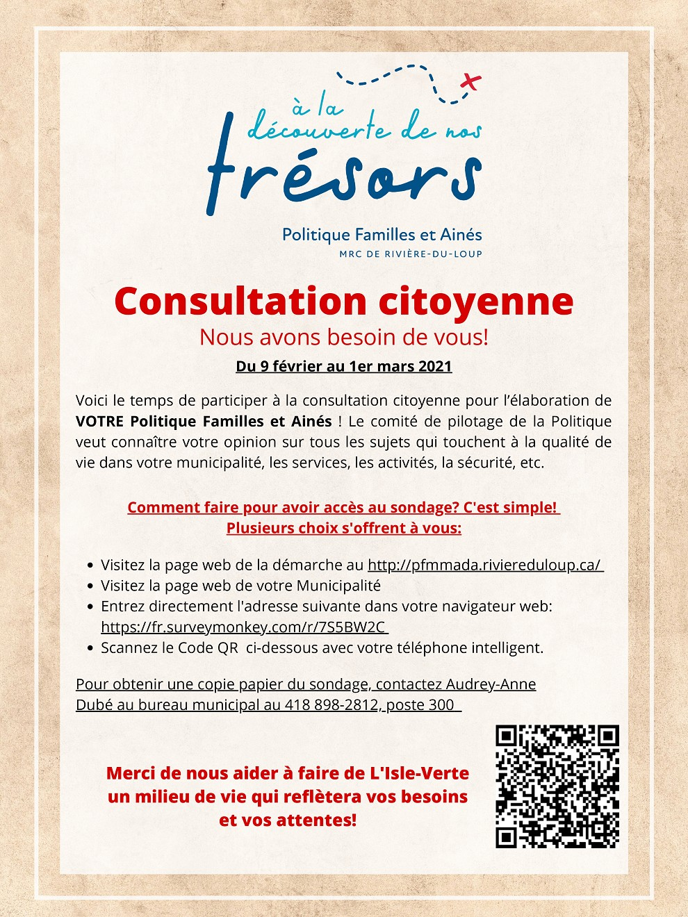PFM/MADA - Consultation citoyenne générale