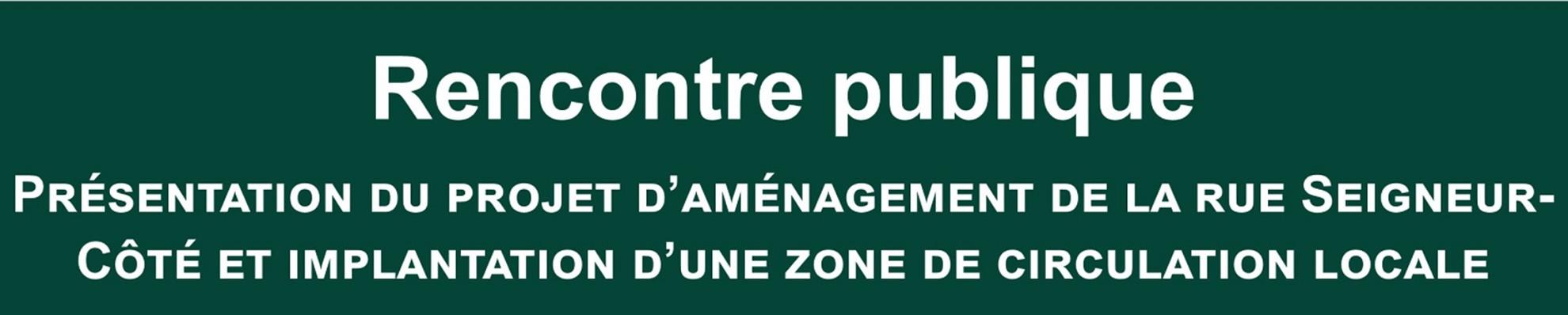 Rencontre publique - bannière